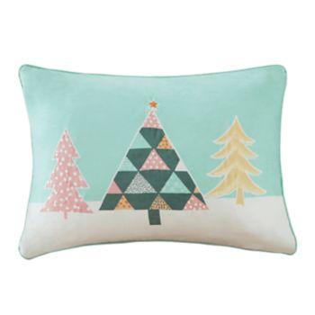 Madison Park Festive Pastel Wonderland Oblong Throw Pillow