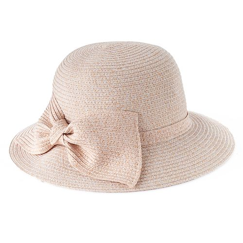 KOHL S. WOMEN S LC LAUREN CONRAD BOW BACK CLOCHE HAT 7c4991517b0