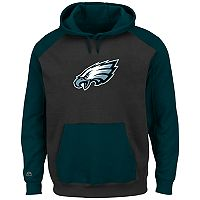 Big & Tall Majestic Philadelphia Eagles Pullover Hoodie