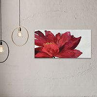 Artissimo Designs Passion Flower Canvas Wall Art