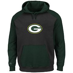 Big & Tall Majestic Green Bay Packers Pullover Hoodie