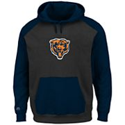 Big & Tall Majestic Chicago Bears Pullover Hoodie