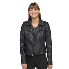 Women's Levi's Faux-Leather Motorcycle Jacket