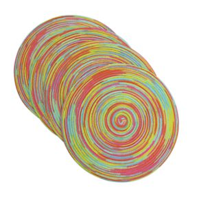 Celebrate Summer Together Very Berry Swirl Placemat 4-pack