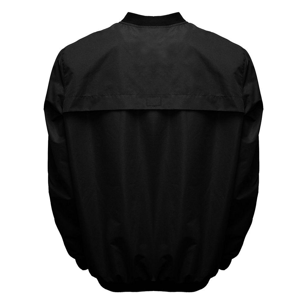 Men's Franchise Club Tone City Carolina Football Windshell Pullover Jacket