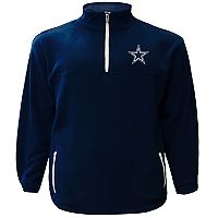Big & Tall Majestic Dallas Cowboys Fleece Pullover
