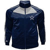 Big & Tall Majestic Dallas Cowboys Mesh Tricot Track Jacket