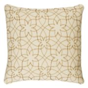 Rizzy Home Botanical Swirl Throw Pillow