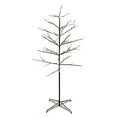 6-ft. Pre-Lit Artificial Twig Indoor / Outdoor Christmas Tree