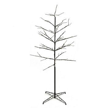 6-ft. Pre-Lit Artificial Twig Indoor / Outdoor Christmas Tree