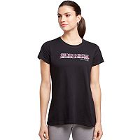 Women's Skechers Shadow Logo Graphic Tee