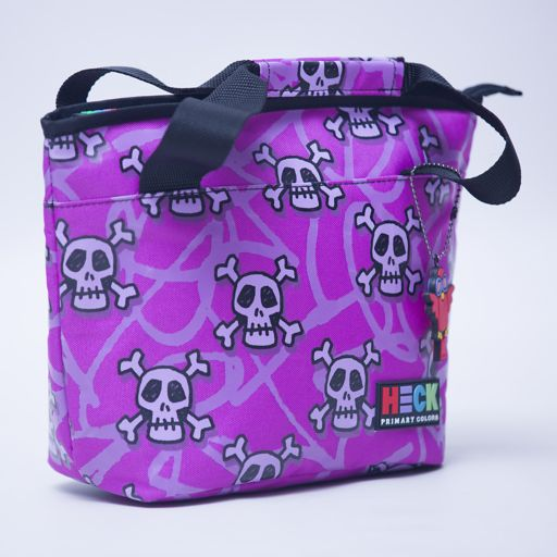 Ed Heck And Crossbones Curved Top Lunch Tote