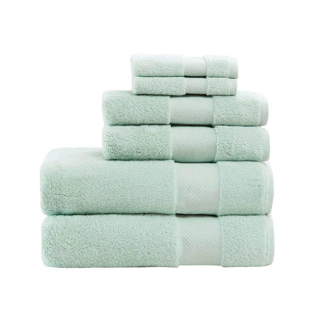 Madison Park 6-piece Turkish Bath Towel Set