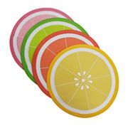 Celebrate Summer Together Citrus Placemat 4-pack