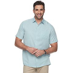 Big & Tall Croft & Barrow® Regular-Fit Soft Touch Microfiber Button-Down Shirt