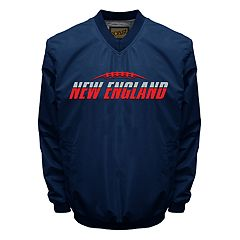 Men's Franchise Club Tone City New England Football Windshell Pullover Jacket