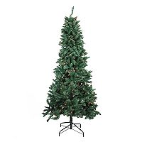 Northlight 9-ft. Pre-lit Pine Slim Artificial Christmas Tree