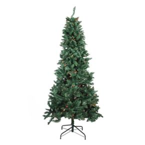 Northlight 9-ft. Pre-lit Pine Slim Artificial Christmas Tree