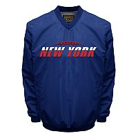 Men's Franchise Club Tone City New York Football Windshell Pullover Jacket