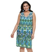 Plus Size Suite 7 Shift Dress