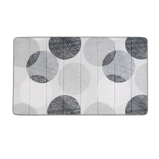 Madison Park Essentials Glendale Reversible Memory Foam Bath Rug
