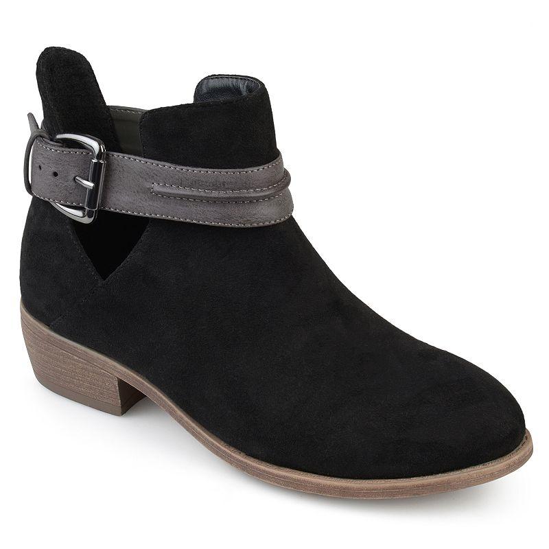 Journee Collection Mavrik Women's Ankle Boots, Girl's, Size: Medium (11), Black