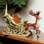 Northlight Sleigh & Reindeer Table Christmas Decor