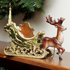Northlight Sleigh & Reindeer Table Christmas Decor