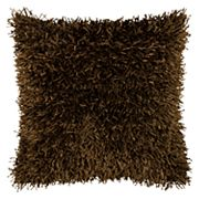 Rizzy Home Poly String Shag Tufted Throw Pillow