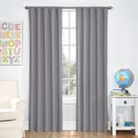 Eclipse Kids Microfiber Blackout Window Curtain