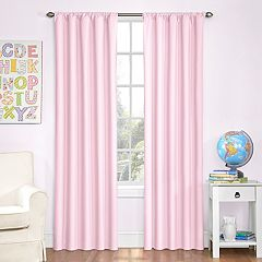 Kids eclipse Blackout 1-Panel Microfiber Window Curtain