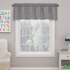 Kids eclipse Microfiber Blackout Window Valance