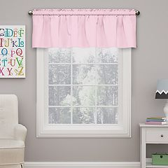 Eclipse Kids Microfiber Blackout Window Valance