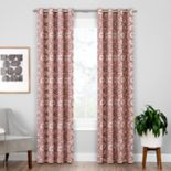 eclipse Blackout 1-Panel Benetta Window Curtain