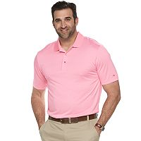 Big & Tall Grand Slam Off Course Regular-Fit Striped Performance Golf Polo