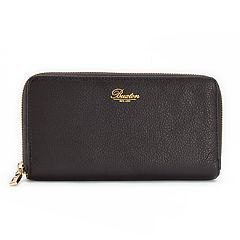 Buxton Florence Slim Zip-Around Wallet