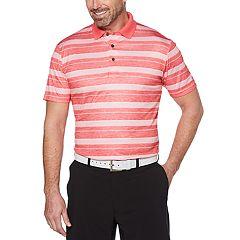 Big & Tall Grand Slam On Course Printed Stripe Polo