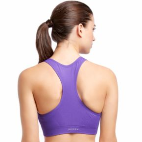 Jockey Sport Bras: Zip Front High-Impact Sports Bra 8656