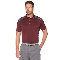 Big & Tall Grand Slam Colorblock Stretch Performance Golf Polo