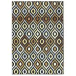 Rizzy Home Carrington Trellis Indoor Outdoor Rug