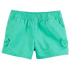 Baby Girl Carter's Tacked Bow Shorts