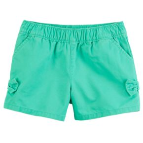 Baby Girl Carter's Tacked Bow Shorts