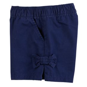 Baby Girl Carter's Bow Pull-On Shorts