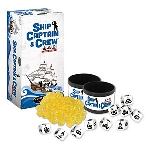 Ship Captain & Crew Dice Game by Front Porch Classics