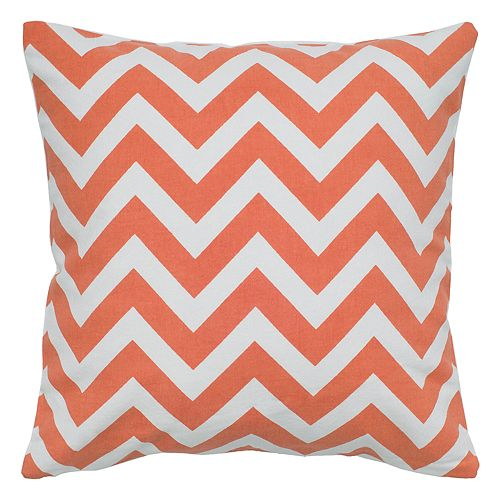 Rizzy Home Chevron Printed Throw Pillow