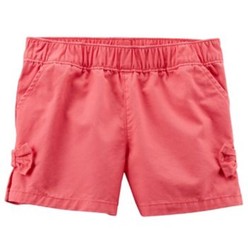 Baby Girl Carter's Red Pull-On Shorts
