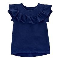 Baby Girl Carter's Ruffled High-Low Tee