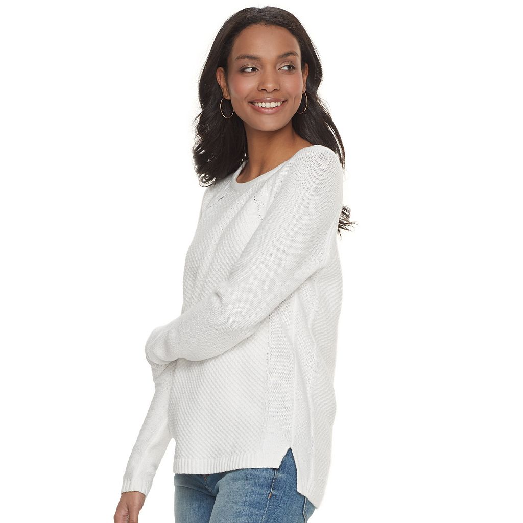 Women's SONOMA Goods for Life™ Raglan Crewneck Sweater