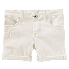 Toddler Girl OshKosh B'gosh® Distressed Denim Bermuda Shorts