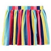 Baby Girl Carter's Striped Skort